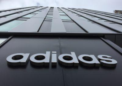 Adidas. Siège social